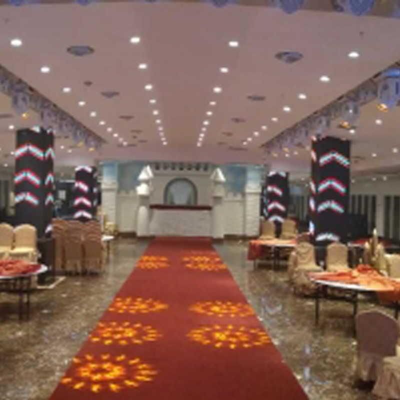 Lighting and Video Integrated Control of a Banquet Hall in Anyang, Henan Province